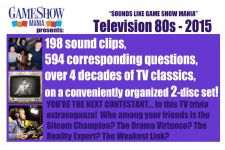 TV Television Game Show Audio Trivia (80s - 2015) Questions & Answers - Digital Download (PDF & MP3)