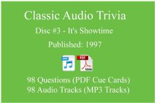 Classic Game Show Mania Audio Trivia - Disc 03 - It's Showtime - Released 1997