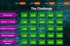 The Challenge Jeopardy Parody Software
