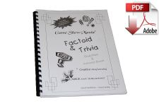 Factoid Game Show Trivia Book #1 Digital Download (PDF)